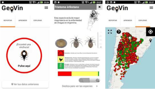 The Vinchucas App of Argentina was declared interesting by the WHO