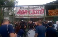 Conflicto por el cierre de la planta impresora del Grupo Clarín