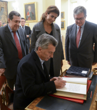 Macri llegó a España para relanzar la relación bilateral y atraer inversiones