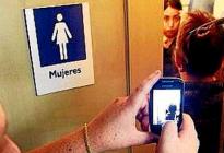 Mozo filmaba a chicas que iban al baño