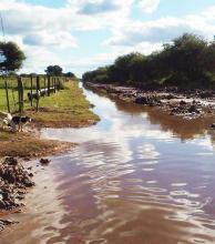 Pampa del Indio: piden que se declare zona de emergencia por las intensas lluvias