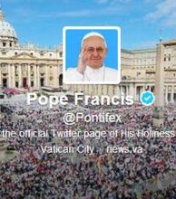 El Papa se corona como el líder mundial más seguido en Twitter