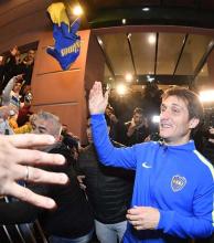 'Este es el triunfo de un equipo que atacó en todos lados', destacó el DT campeón de Boca, Barros Schelotto