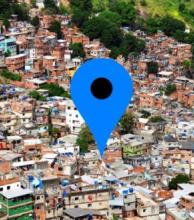 Google maps indica un punto de venta de marihuana en Río de Janeiro