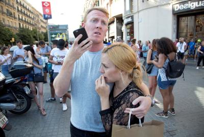 Atentado en Barcelona: hay dos argentinos entre los heridos