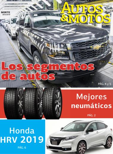 Los segmentos de autos