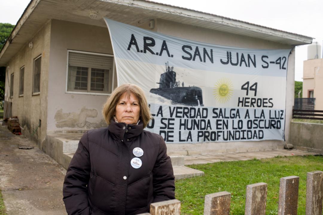 Zulma Sandoval, Madre del Suboficial Segundo Celso Oscar Vallejos.jpg