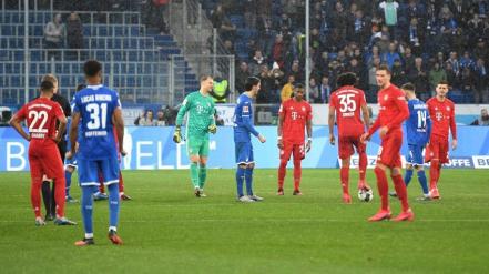 Los insólitos últimos 13 minutos de un partido del Bayern Munich