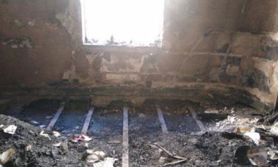 Cómo quedó el departamento de Elsa Serrano tras el incendio