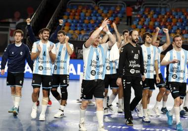 Mundial de Handball: nueva victoria de Argentina en Egipto