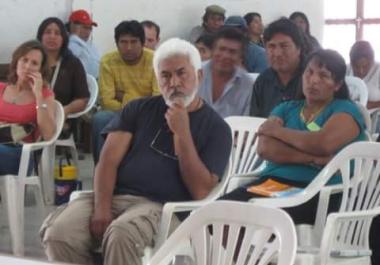 """Lecko Zamora: """"Con las organizaciones indígenas entré en conciencia del poder de la palabra y de lo escrito"""""""