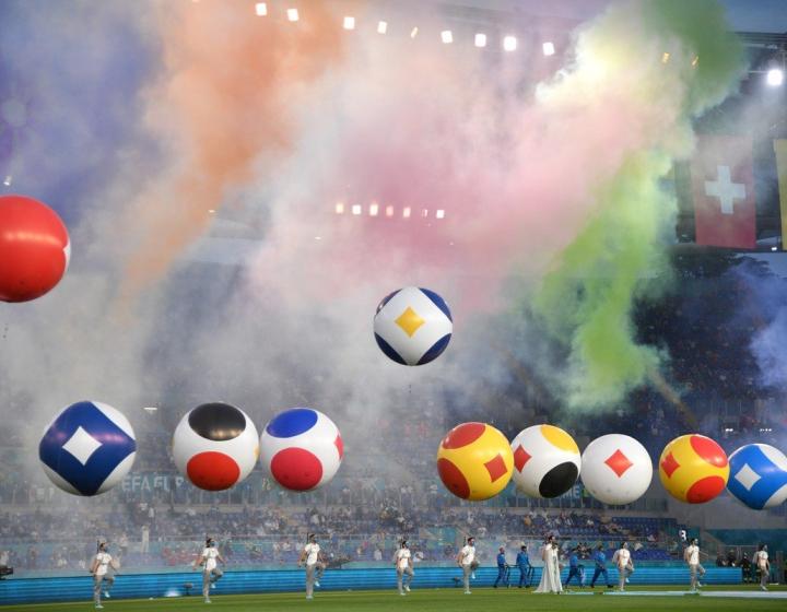 Eurocopa: las fotos de la fiesta de inauguración