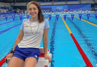 Delfina Pignatiello se despidió de los Juegos Olímpicos con una reflexión