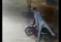 En 15 segundos se roban una moto en Resistencia