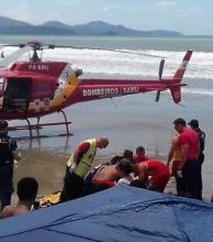 Un turista argentino murió ahogado mientras vacacionaba en Meia Praia