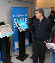 El municipio recibió tótems para empezar el recambio de Tarjebus a SUBE