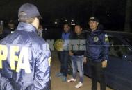 """Policía federal detuvo en Castelli a dos prófugos por el caso """"La Salada"""""""