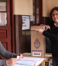 """Terada: """"En estas elecciones es notorio la mayor afluencia de votantes"""""""