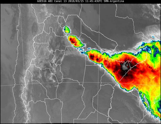 Lluvia en resistencia llevan hasta las 10 hs 38 mm de - Estacion meteorologica carrefour ...