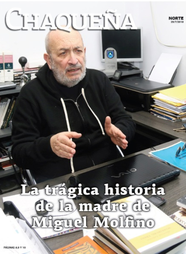 La trágica historia de la madre de Miguel Molfino