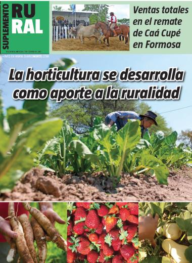 La horticultura se desarrolla como aporte a la ruralidad