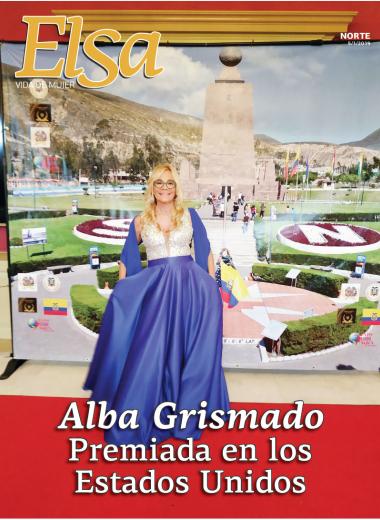 Alba Grismado premiada en los Estados Unidos