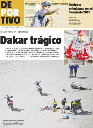 Dakar trágico