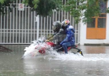 Resistencia, nuevamente complicada por las intensas precipitaciones
