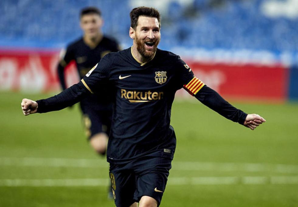 Messi batió dos récords en la goleada del Barcelona ante la Real Sociedad |  Norte Chaco