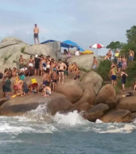 Otro turista argentino murió ahogado en Florianópolis