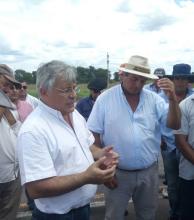 Confirman el depósito de fondos del impuesto inmobiliario a consorcios rurales