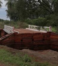 El puente en Las Palmas estará habilitado la próxima semana