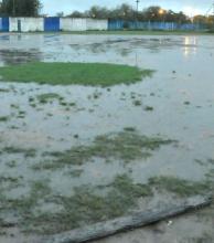 Tercera suspensión de la fecha del fútbol local