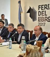 """Peppo presentó la Feria del Libro en Buenos Aires """"Chaco lee para crecer"""""""