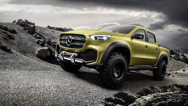 Así será la nueva pick up Mercedes Benz   Norte Chaco