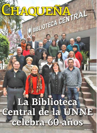 La Biblioteca Central de la UNNE celebra 60 años