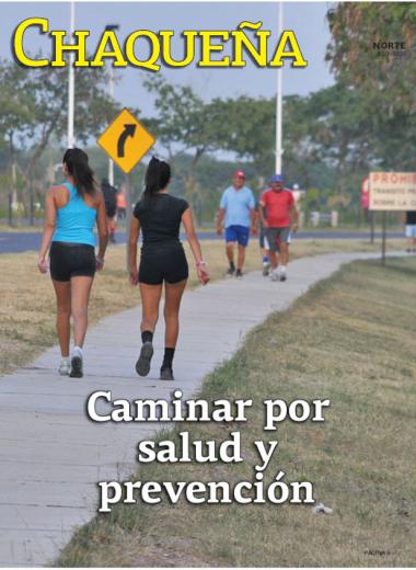 Caminar por salud y prevención