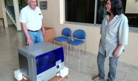 Escuela agropecuaria facilita un moderno equipamiento para el diagnóstico de Covid-19 en el Chaco