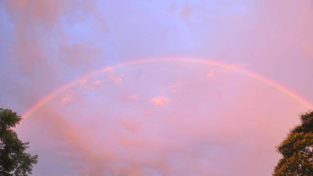 Cielo multicolor