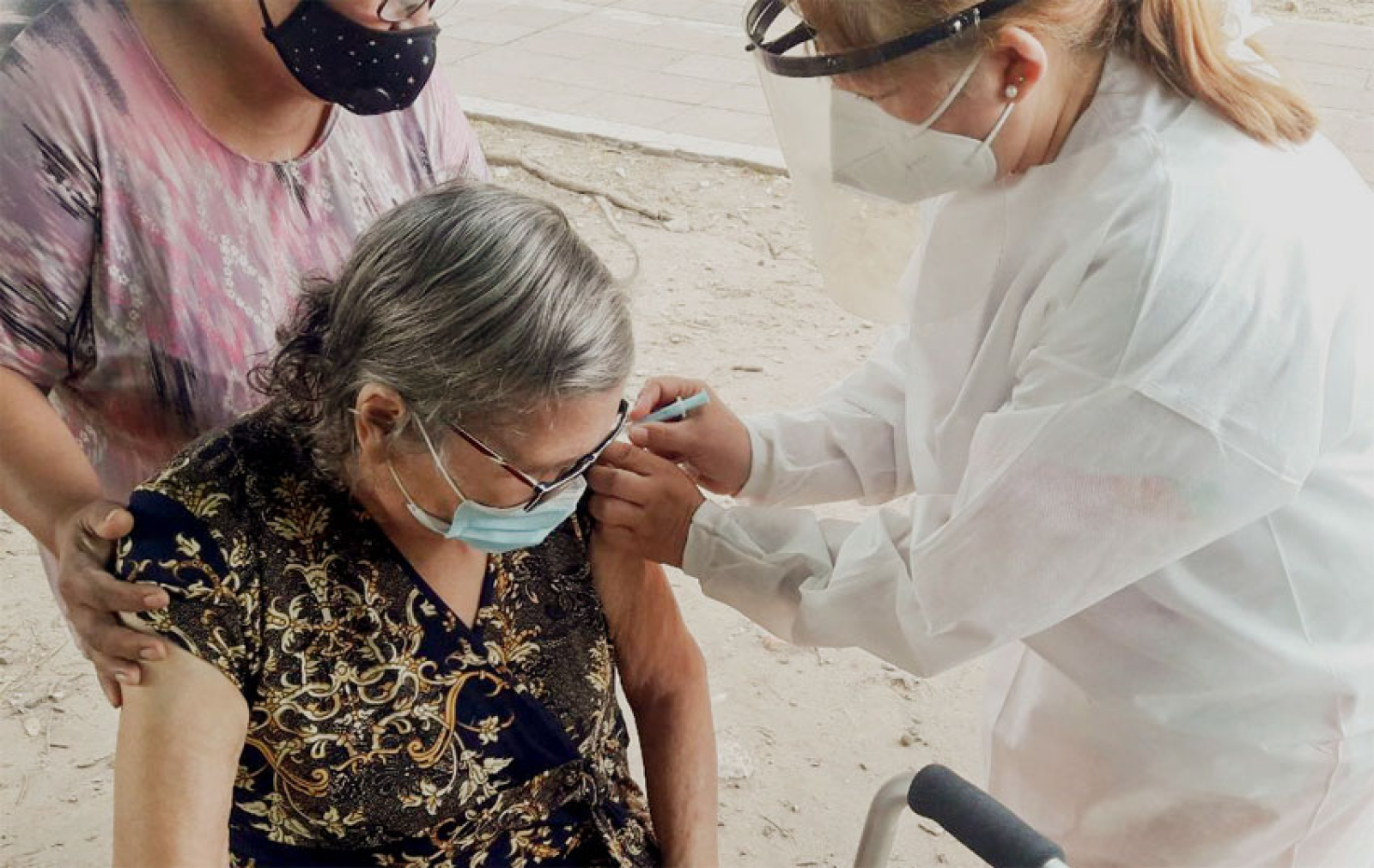 Solo 5 de cada 10 mayores de 60 años concurre a inmunizarse