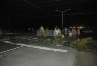La zona suroeste estuvo sin luz: vecinos cortaron el tránsito sobre la ruta 11