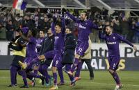 Calcio: Fiorentina bajó a Juventus y la Roma se acercó a un punto