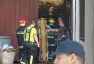 Varias áreas municipales fueron afectadas al incendio en juguetería
