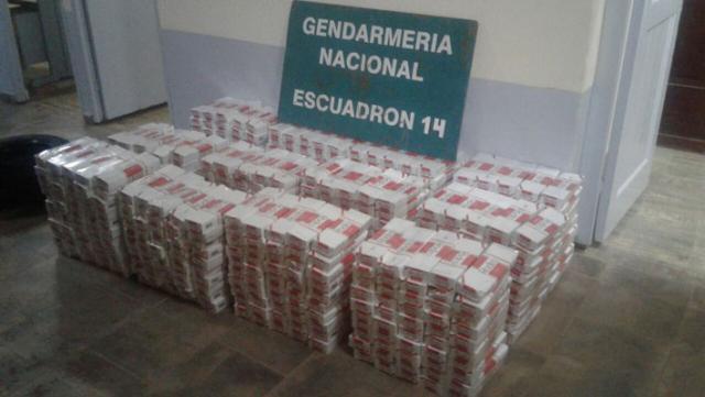 20 mil paquetes de cigarrillos de contrabando