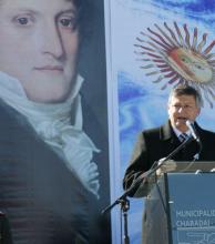 """Peppo: """"Reivindicamos a Belgrano  porque plantó las banderas del federalismo"""""""