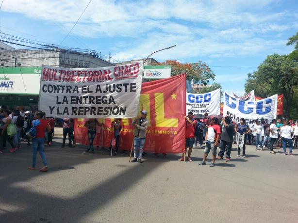 Trabajadores estatales, docentes y organizaciones de base se manifestaron contra las reformas
