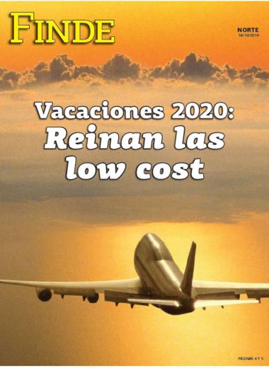 Vacaciones 2020: Reinan las low cost