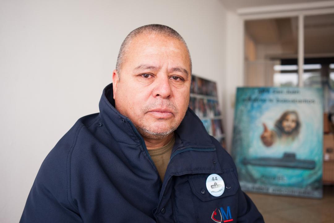 Oscar Vallejos, Padre del Suboficial Segundo Celso Oscar Vallejos.jpg