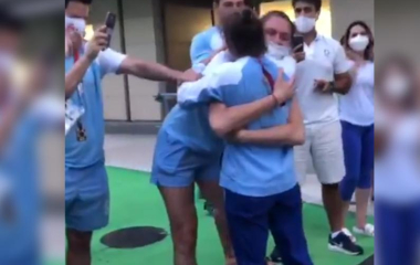 "Orgullo argentino: Así recibieron a la ""Peque"" Pareto tras su retiro"