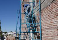 Responsabilidad social: empresa local dona andamios para la Casa Garrahan del Chaco